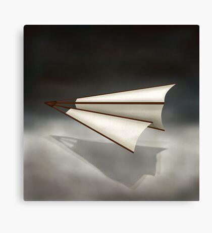 Paper Airplane 26 Canvas Print