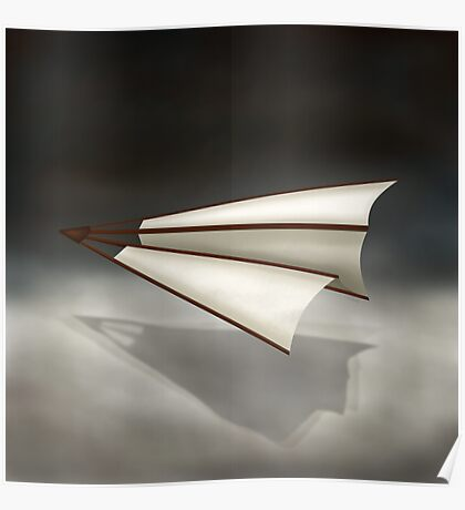 Paper Airplane 26 Poster