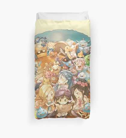 Warriors Friends Duvet Cover