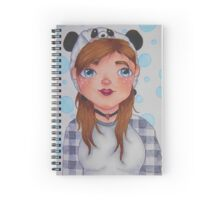 Me on paper  Spiral Notebook