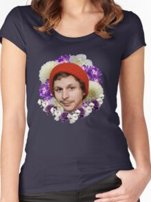 michael cera Women's Fitted Scoop T-Shirt