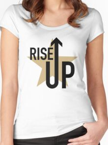 Hamilton the Musical // Rise Up // Alexander Hamilton Women's Fitted Scoop T-Shirt