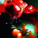 red flower 3 by marcwellman2000
