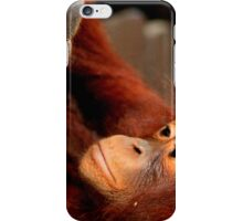 Orangutan bond iPhone Case/Skin