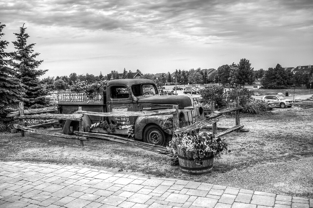 Antique Pickup Truck by John Velocci