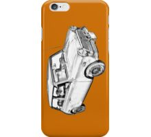 Mini Cooper Illustration iPhone Case/Skin