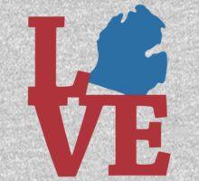 Michigan Love One Piece - Short Sleeve