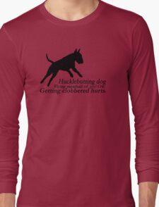 Bull Terrier Haiku Long Sleeve T-Shirt