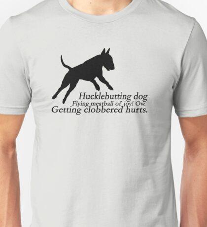 Bull Terrier Haiku Unisex T-Shirt