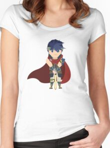 Chibi Ike Vector Women's Fitted Scoop T-Shirt