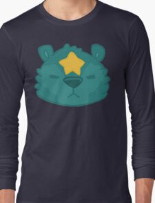 Star Bear Design Long Sleeve T-Shirt