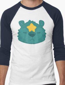 Star Bear Design Men's Baseball ¾ T-Shirt
