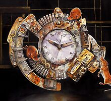 Hickory Dickory Dock by Peter Williams