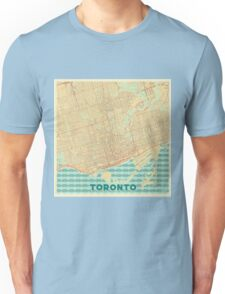 Toronto Map Retro Unisex T-Shirt