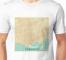 Toronto Map Retro Unisex T-Shirt
