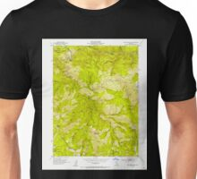 USGS TOPO Map California CA Blue Nose Mtn 288506 1951 24000 geo Unisex T-Shirt