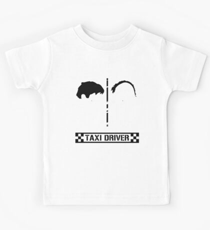 Taxi Driver Minimal Kids Tee