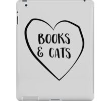 Books and Cats iPad Case/Skin