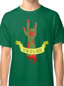 Undead Zombie Design Classic T-Shirt