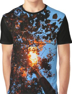 Autumn Glow Graphic T-Shirt
