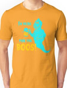 Halloween Beer for The Boos Unisex T-Shirt