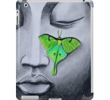 Buddha with Luna Moth iPad Case/Skin