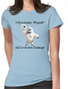 ALS Ice Bucket Challenge Bumble Womens Fitted T-Shirt