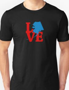 Alaskan Love Unisex T-Shirt