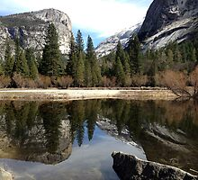 Mirror Lake - Yosemite by Saffron Cuccio