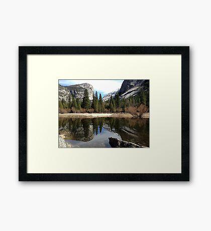 Mirror Lake - Yosemite Framed Print