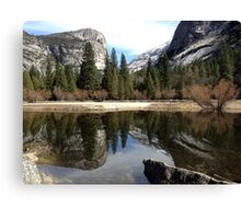Mirror Lake - Yosemite Canvas Print