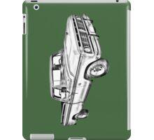1975 Ford F100 Explorer Pickup Truck Illustrarion iPad Case/Skin
