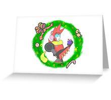 Sideswipe - Christmas Greeting Card