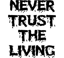 Never trust the Living Photographic Print