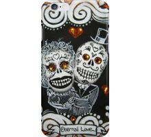 Eternal Love Skelly Couple 2 iPhone Case/Skin