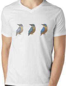 Kingfisher | Triptych Series Mens V-Neck T-Shirt