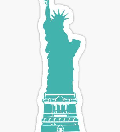 Verdigris Statue of Liberty Sticker
