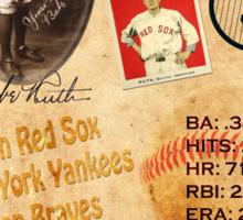 Babe Ruth Sticker