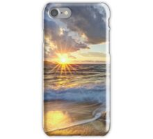 Breathtaking sunset iPhone Case/Skin