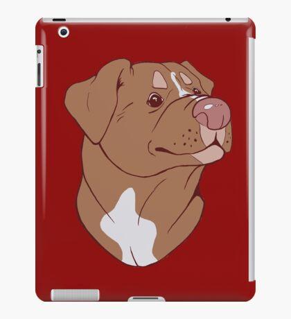 Pit Bull Pride- Red iPad Case/Skin