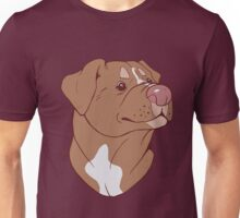 Pit Bull Pride- Red Unisex T-Shirt
