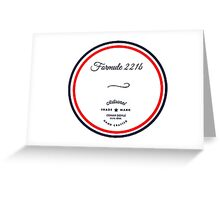 Formule 221b - Since 1895 Greeting Card