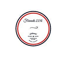 Formule 221b - Since 1895 Photographic Print