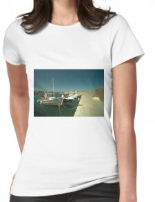 Hersonissos Harbour  Womens Fitted T-Shirt