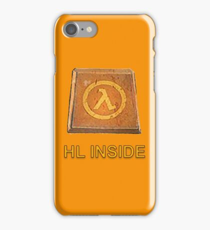 Half Life Gamer Inside  iPhone Case/Skin