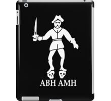 Bartholomew Roberts Pirate Flag iPad Case/Skin