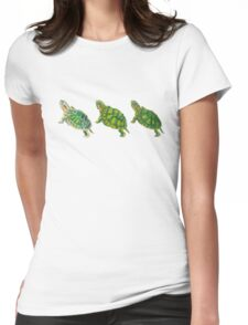 Turtle | Triptych Series  Womens Fitted T-Shirt