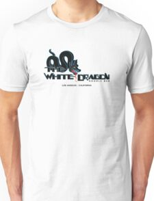 White Dragon - Noodle Bar (Black Variant) Unisex T-Shirt