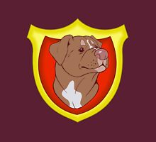 Pit Bull Pride - Red with Crest T-Shirt