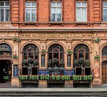 Outside View of an English Pub by Sue Martin